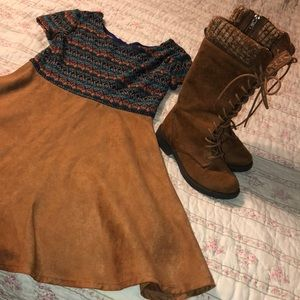 American Eagle boots 13 and dress size 10